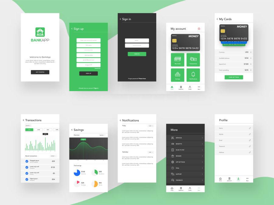 High Fidelity App Prototype