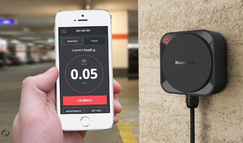 Honeywell Bluetooth and App-Enabled Gas Detector - Sensepoint XCL