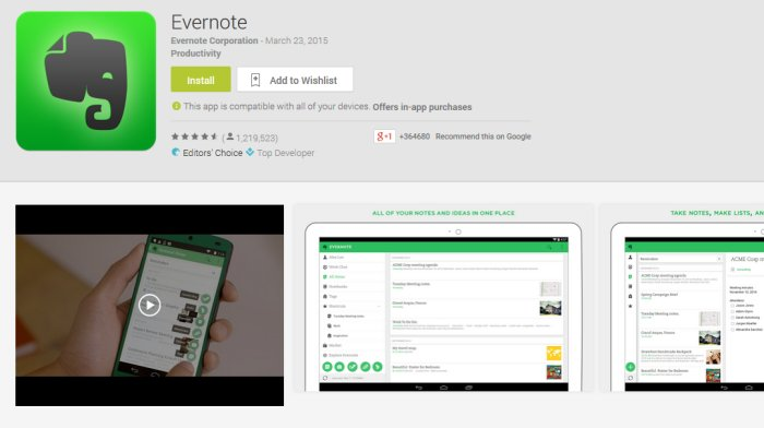 evernote-play-listing