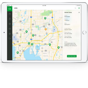 iPad App Design for Field Service Company